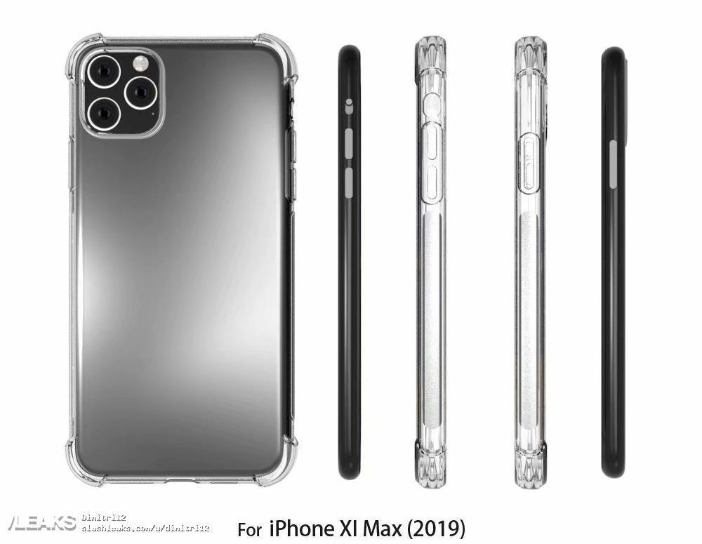 Новые модели iPhone показали в прозрачном чехле