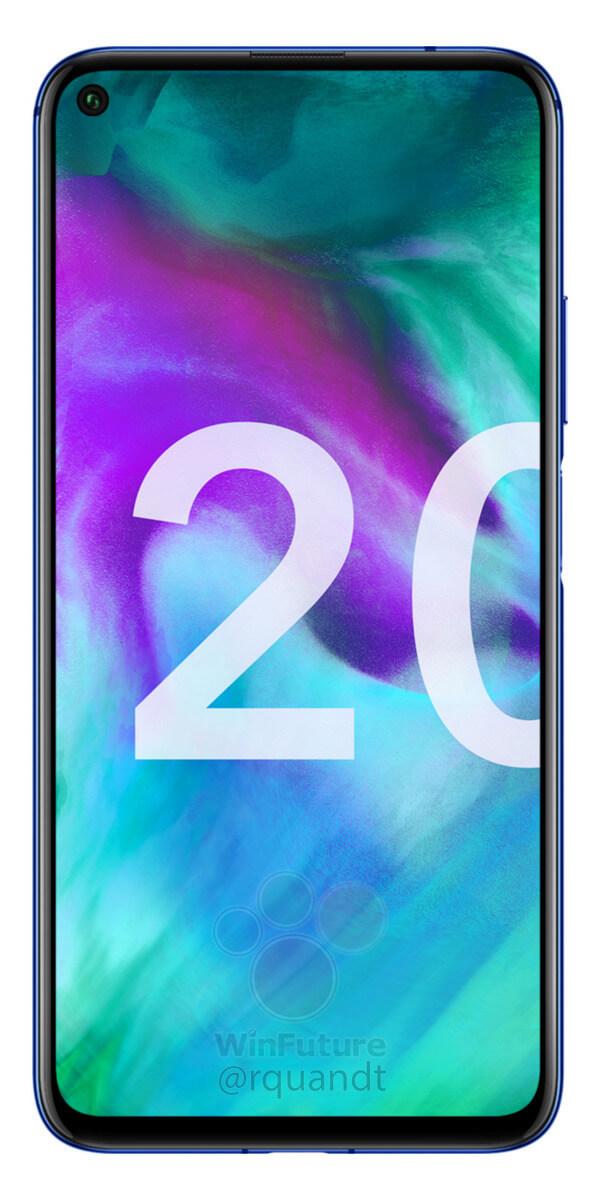 Новый флагманский смартфон Honor 20 полностью рассекречен
