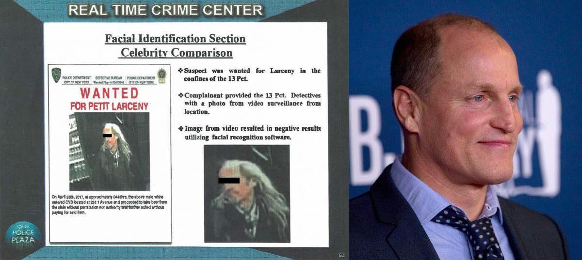Полиция научилась ловить преступников по фото знаменитостей