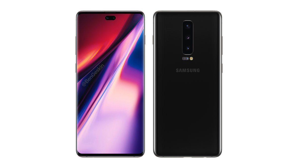 Рассекречен дизайн нового флагманского смартфона Samsung Galaxy Note 10
