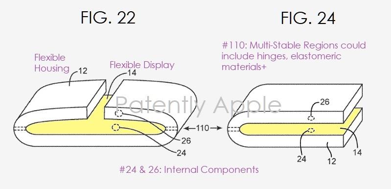 Apple приделает на бок iPhone множество маленьких экранчиков