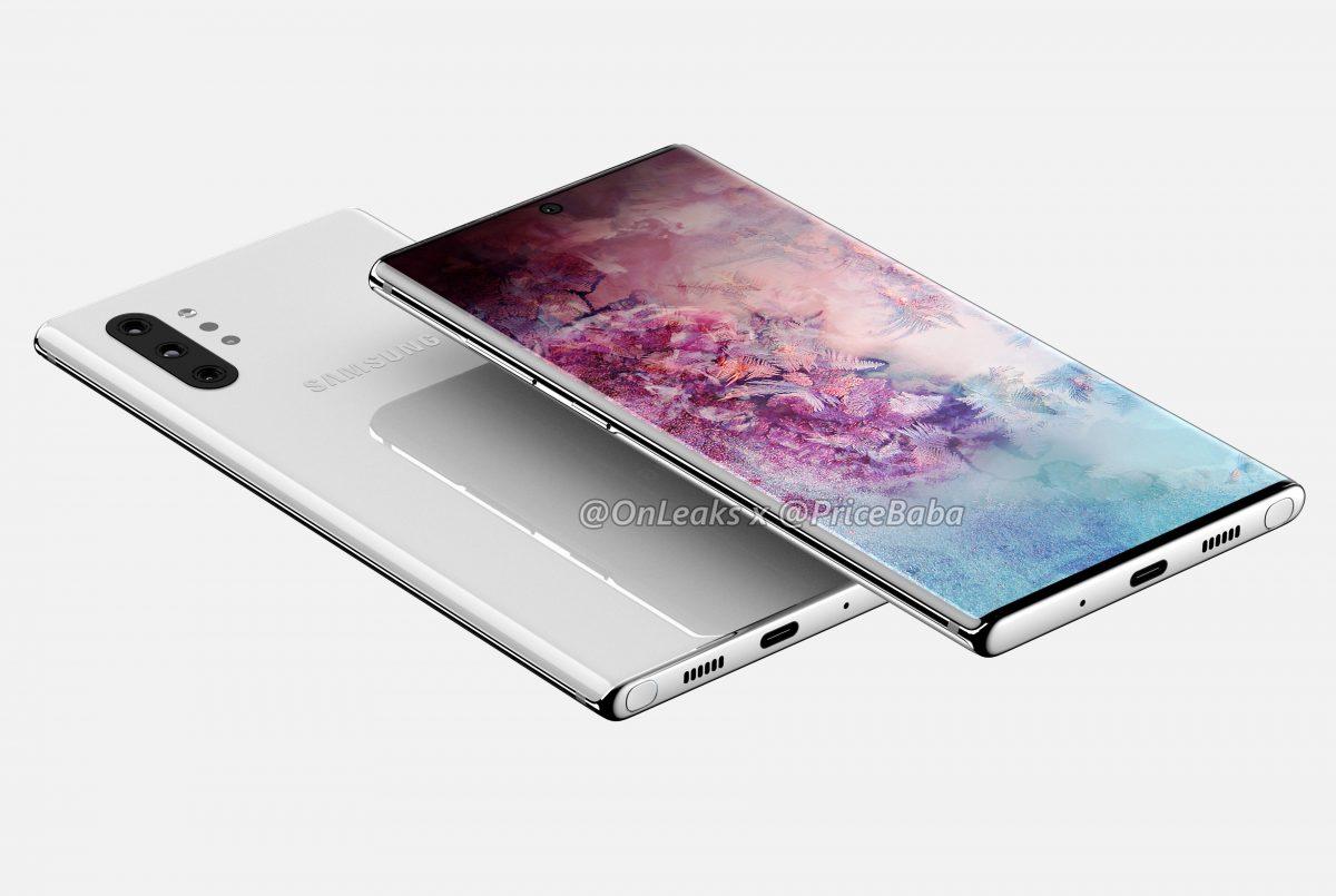 Дизайн Samsung Galaxy Note 10 Pro продемонстрирован на видео