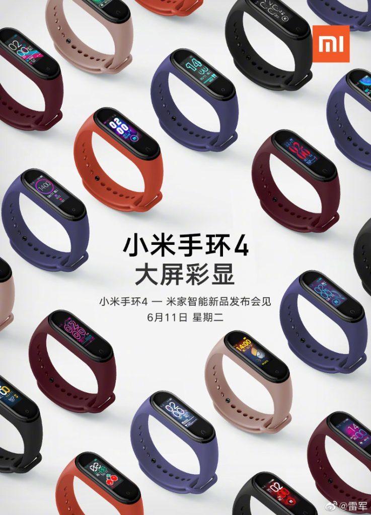 Рассекречены стоимость и дизайн недорогих браслетов Xiaomi с NFC