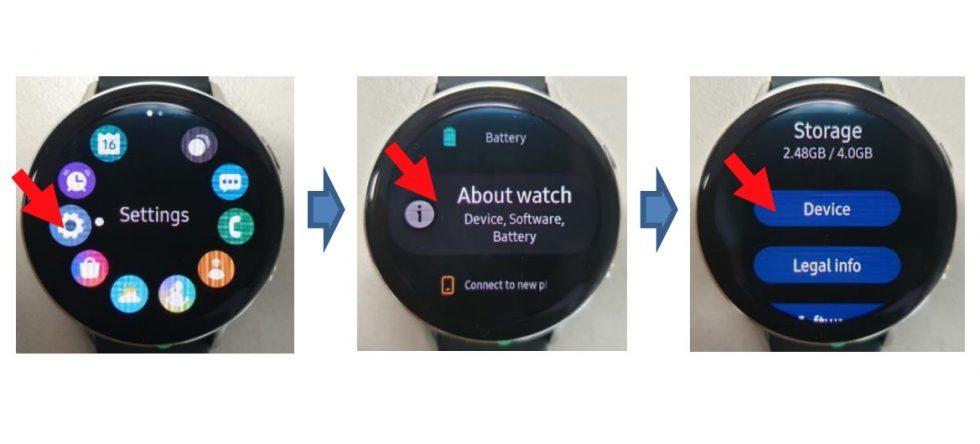 Американские власти рассекретили новые умные часы Samsung