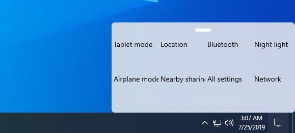 Раскрыт дизайн новой панели уведомлений в Windows
