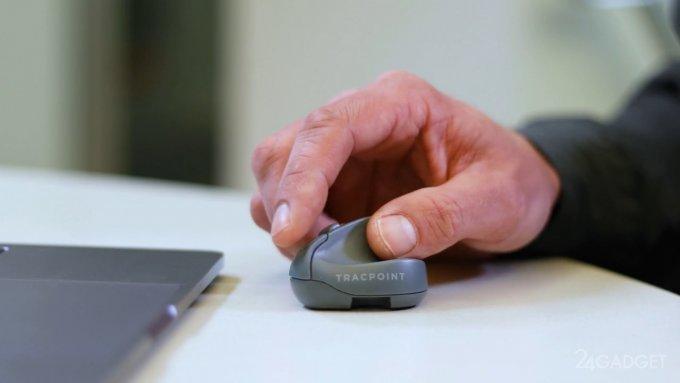 Анонсирована компактная компьютерная мышь (видео)