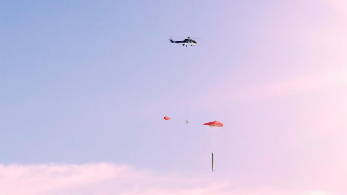 США готовят вертолёты, которые смогут ловить ракеты на лету