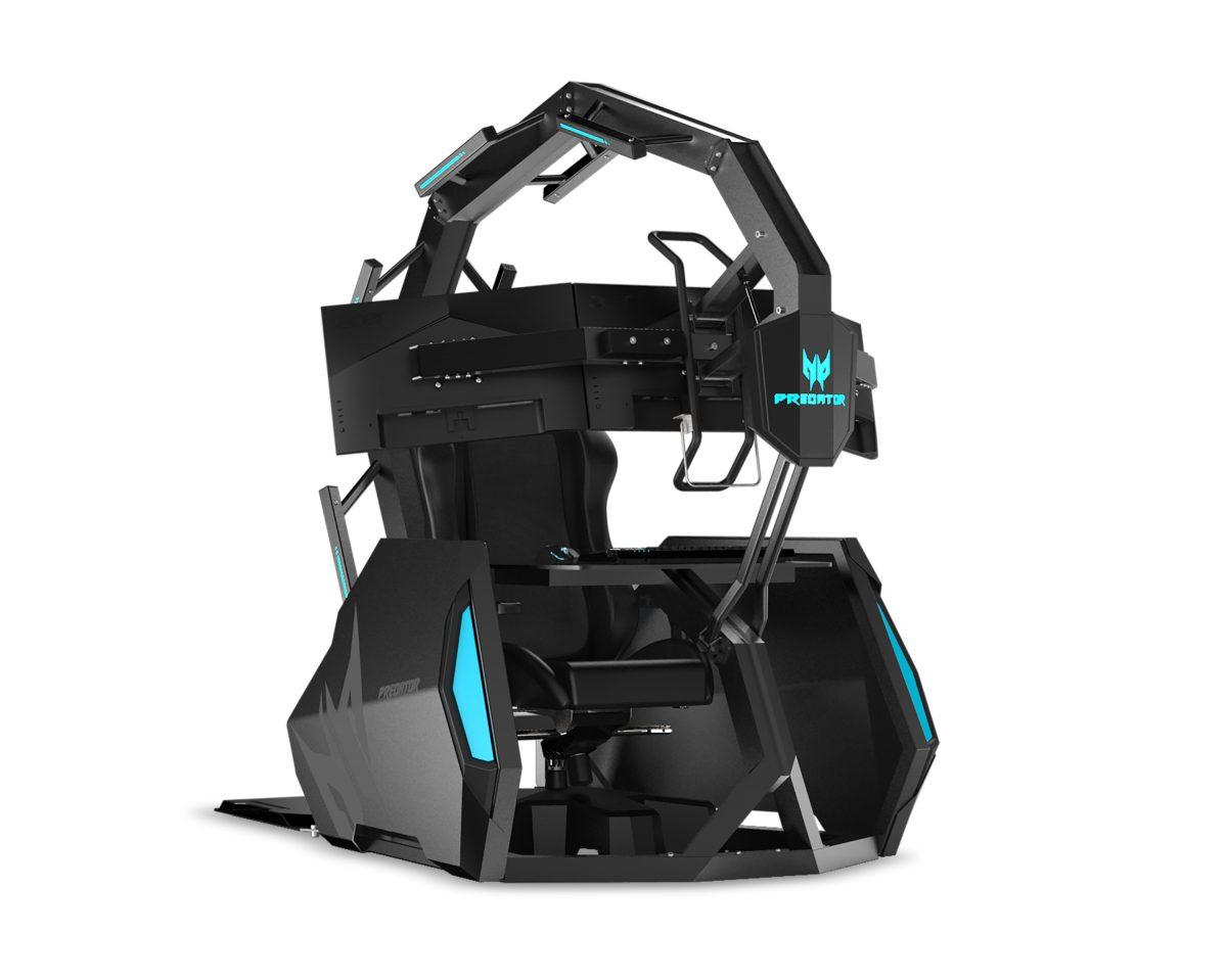 Acer предложила геймерам новый трон для игр