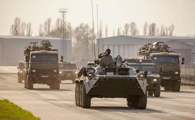 Комплекс «Палантин» скроет войска от противника