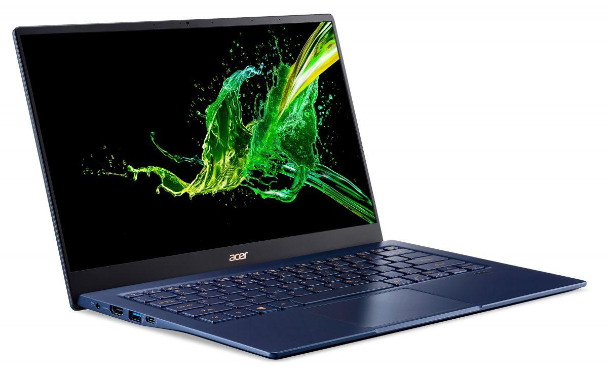 Ноутбук Acer Swift 5 установил рекорд по лёгкости