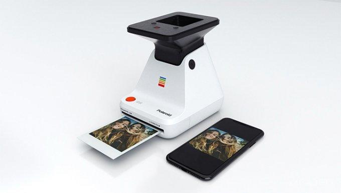 Принтер Polaroid Lab для печати фото с дисплея смартфона