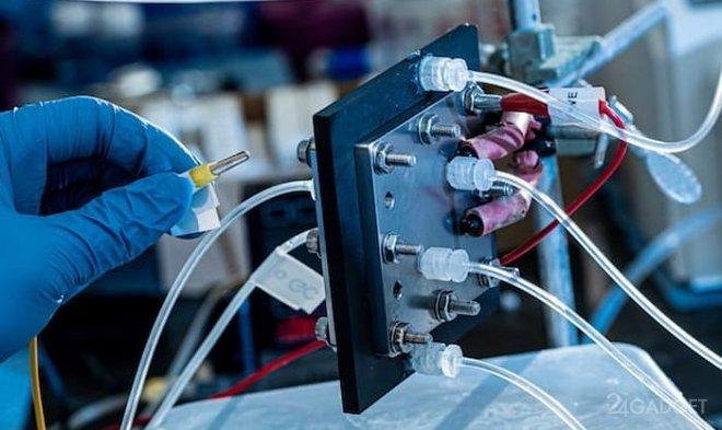 Реактор, генерирующий жидкое топливо из углекислого газа