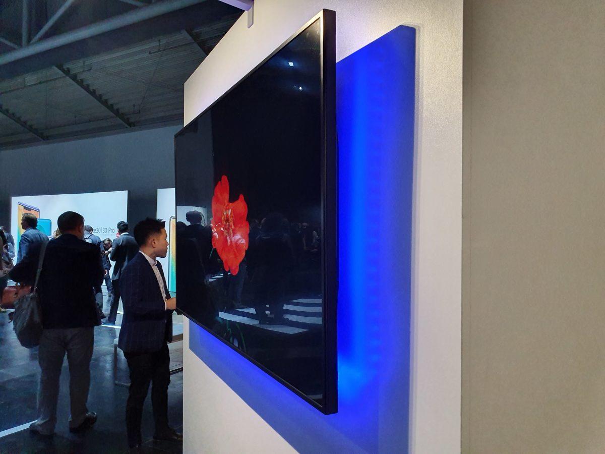 Huawei презентовала «умный» телевизор
