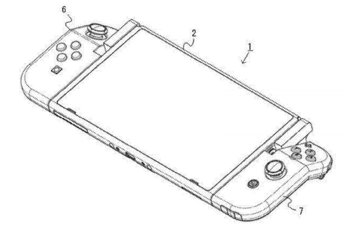 Nintendo запатентовала новый тип контроллеров для своей портативной консоли