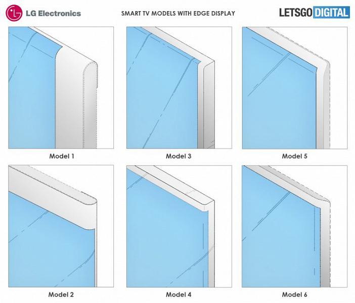 В новых телевизорах LG будет загнутый за края экран