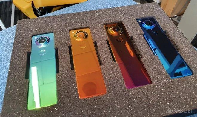 Смартфон от Энди Рубина получил необычный дизайн