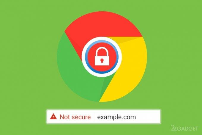 Google Chrome против HTTP и будет блокировать «смешанный» контент