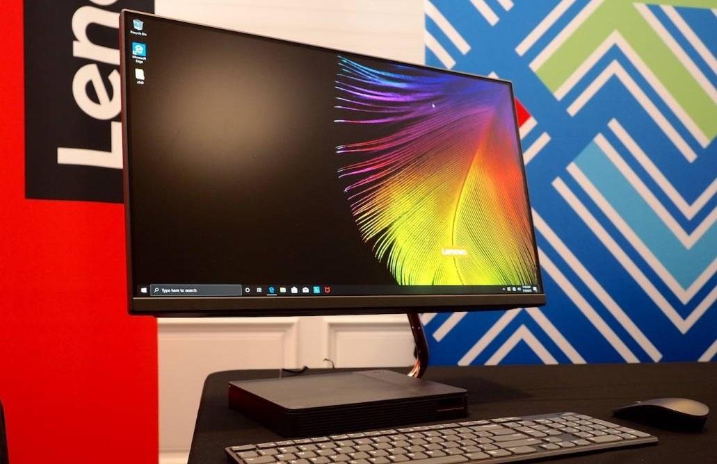 Lenovo привезла в Россию безрамочный компьютер-моноблок с восьмиядерными процессорами