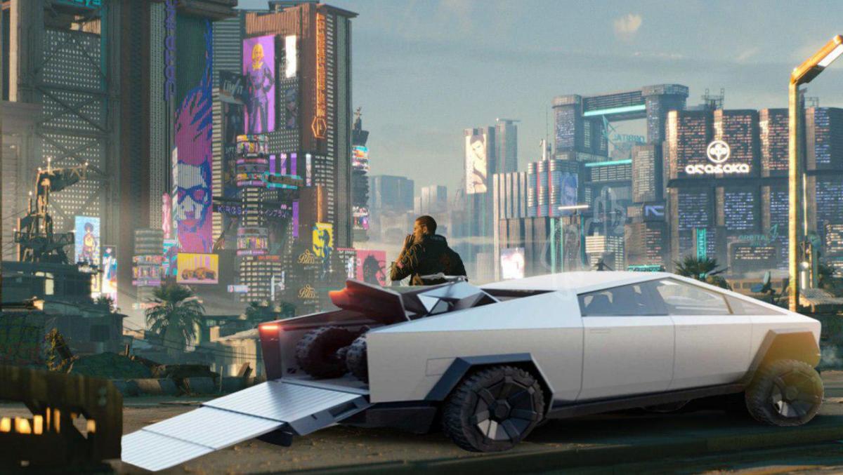 Первый электропикап Tesla Cybertruck появился на дорогах общего пользования