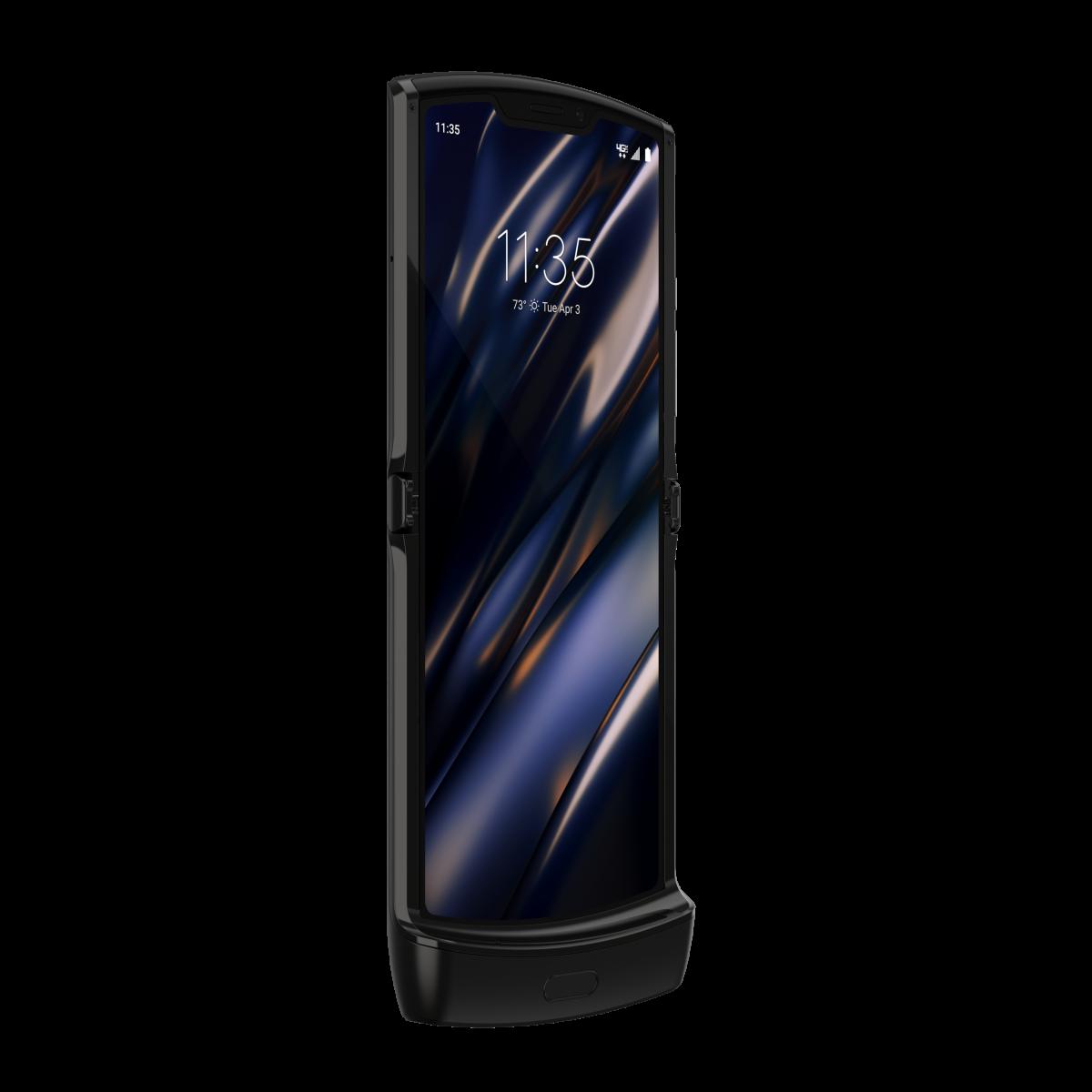 Представлена раскладушка с гибким экраном Motorola Razr
