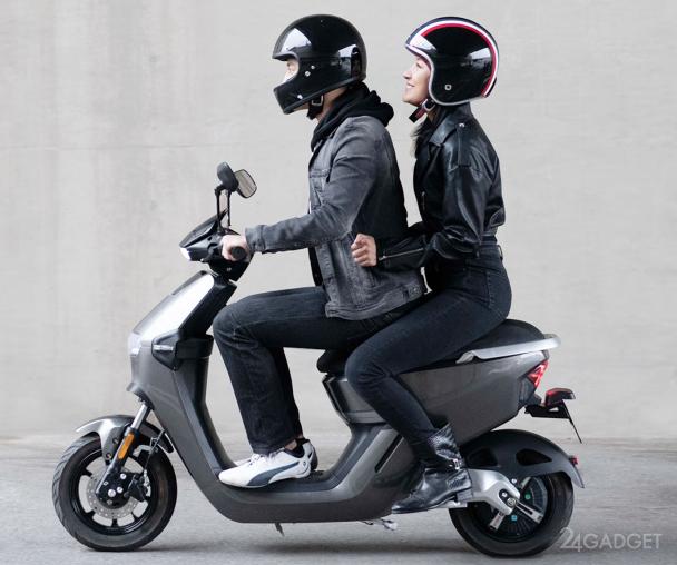 Электроскутер Molinks Electric Motorbike Xiaomi с большим запасом хода