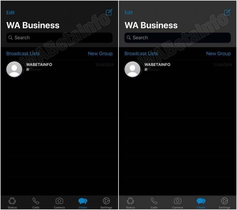 WhatsApp готовит тёмный режим