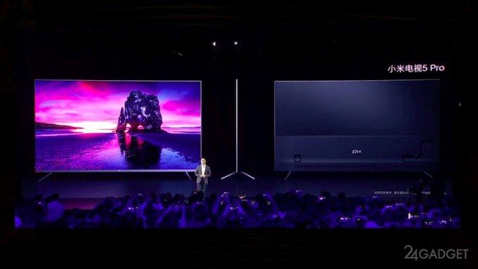 Xiaomi анонсировала новую линейку телевизоров 4К Mi TV 5 и Mi TV 5 Pro