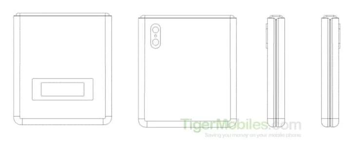 Xiaomi запатентовала аналог раскладушки Motorola Razr