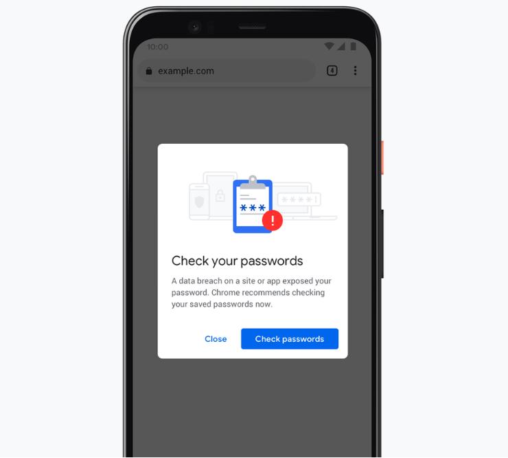 Chrome предупредит об украденном пароле до входа на сайт