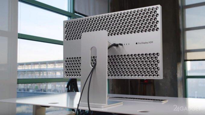 Блогер продемонстрировал распаковку, монтаж и работу Apple Pro Display XDR за 10 тысяч долларов (видео)