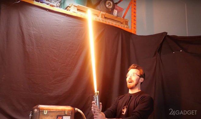 Создан протомеч аналогичный мечам джедаев из «Звездных войн» (2 фото + видео)