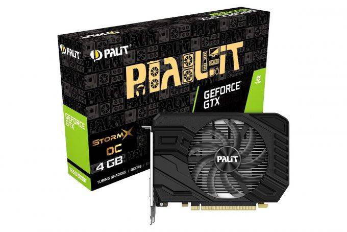 PALIT анонсировал начало продаж геймерских видеокарт nVidia Turing – GTX 1650 SUPER