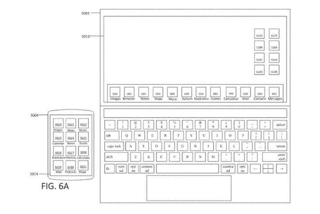 Apple изобрела MacBook с сенсорным экраном