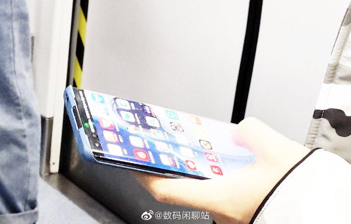 В сеть слили «живое» фото нового флагмана Huawei