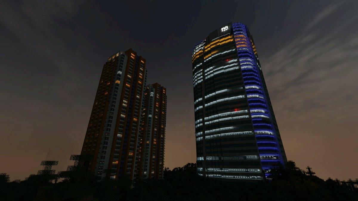 Игрок потратил два года на воссоздание реального города в Minecraft
