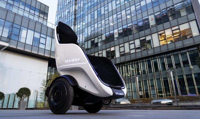 Компактное мобильное кресло-скутер Segway S-Pod (2 фото)