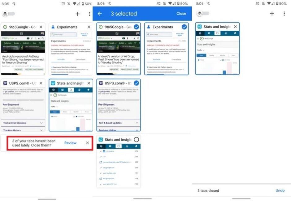 """Новая версия Chrome для Android будет напоминать закрывать """"несвежие"""" вкладки"""