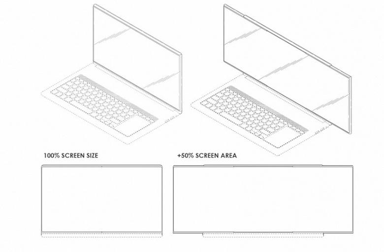 Samsung показала ноутбук с растягивающимся дисплеем