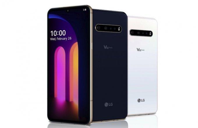 Анонсирован флагманский смартфон LG V60 ThinQ 5G (8 фото)