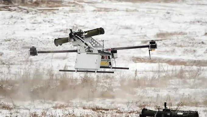 Белоруссия протестировала дрон с противотанковым гранатометом (видео)