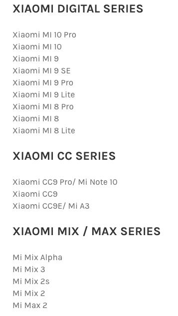 Названы смартфоны Xiaomi, которые получат новую фирменную оболочку