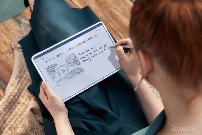 HUAWEI представил новый планшет без гуглсервисов MatePad Pro (5 фото)