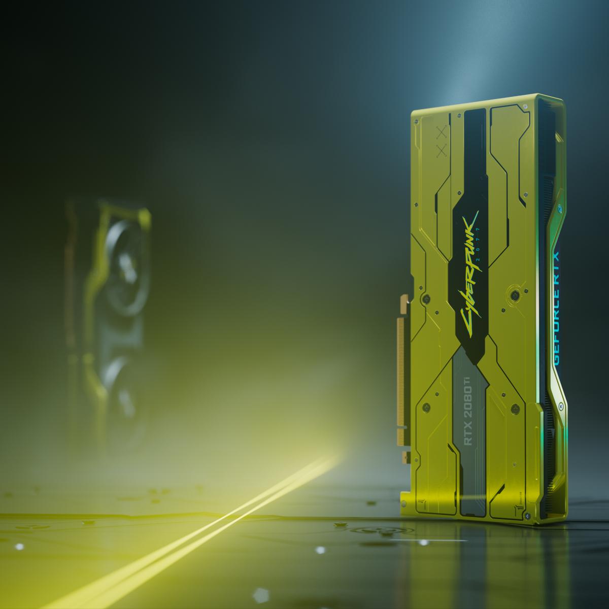NVIDIA выпустила видеокарту в честь выхода игры Cyberpunk 2077, но продавать ее не будет