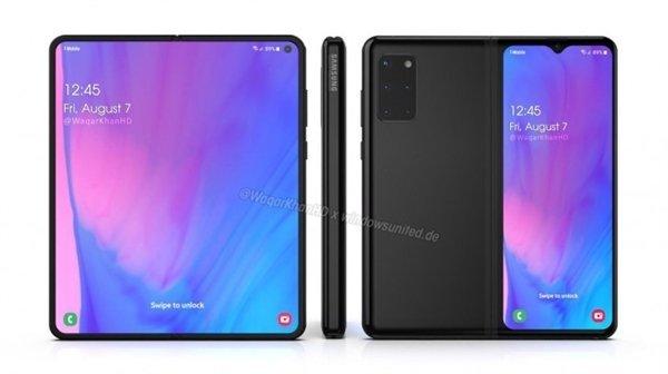 Новый складной смартфон Samsung может оказаться очень похожим на Huawei P40 Pro