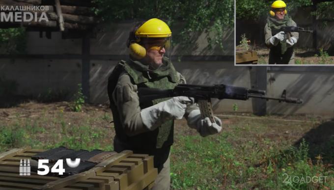 АК-74М испытали на долговечность при непрерывной стрельбе (видео)