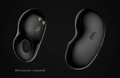 В сети показали будущие беспроводные наушники Samsung в форме фасоли