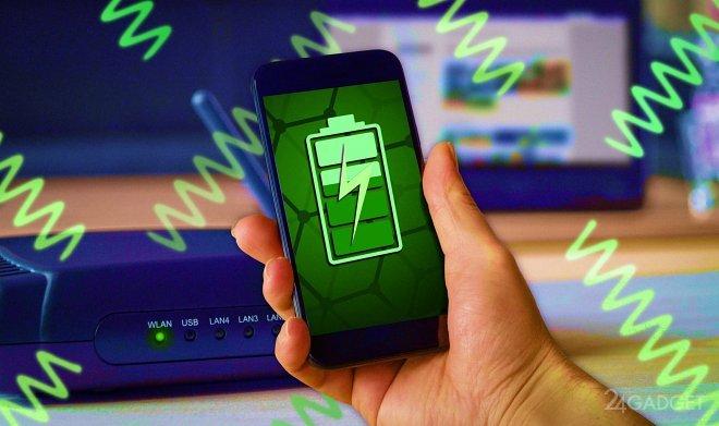 Разработана графеновая зарядка аккумулирующая энергию от Wi-Fi (2 фото)