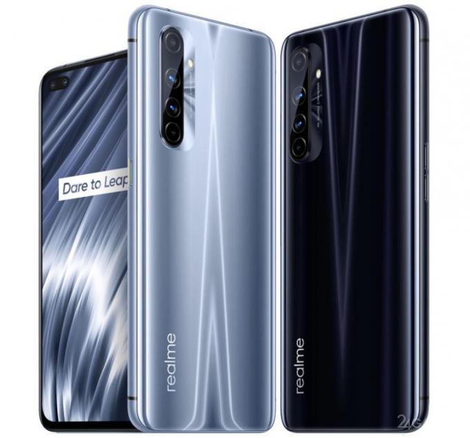 Геймерский смартфон Realme X50 Pro Play на топовом процессоре Snapdragon 865
