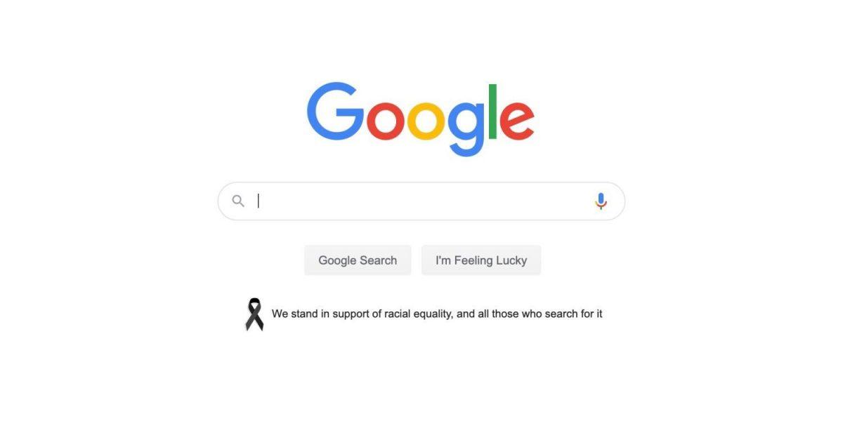 Google выступила в поддержку расового равенства