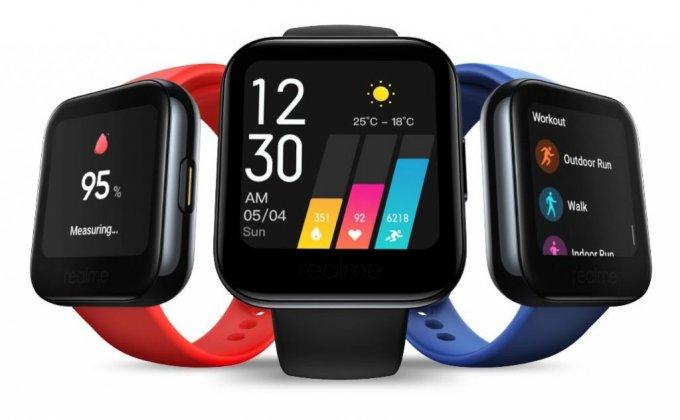 Realme анонсировала умные часы Realme Watch за 52 доллара (3 фото)